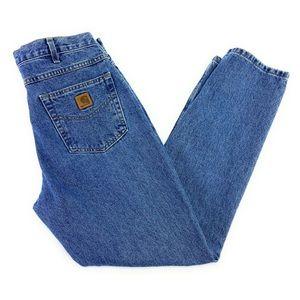 Carhartt Men's Five Pocket Straight Jeans 34X30